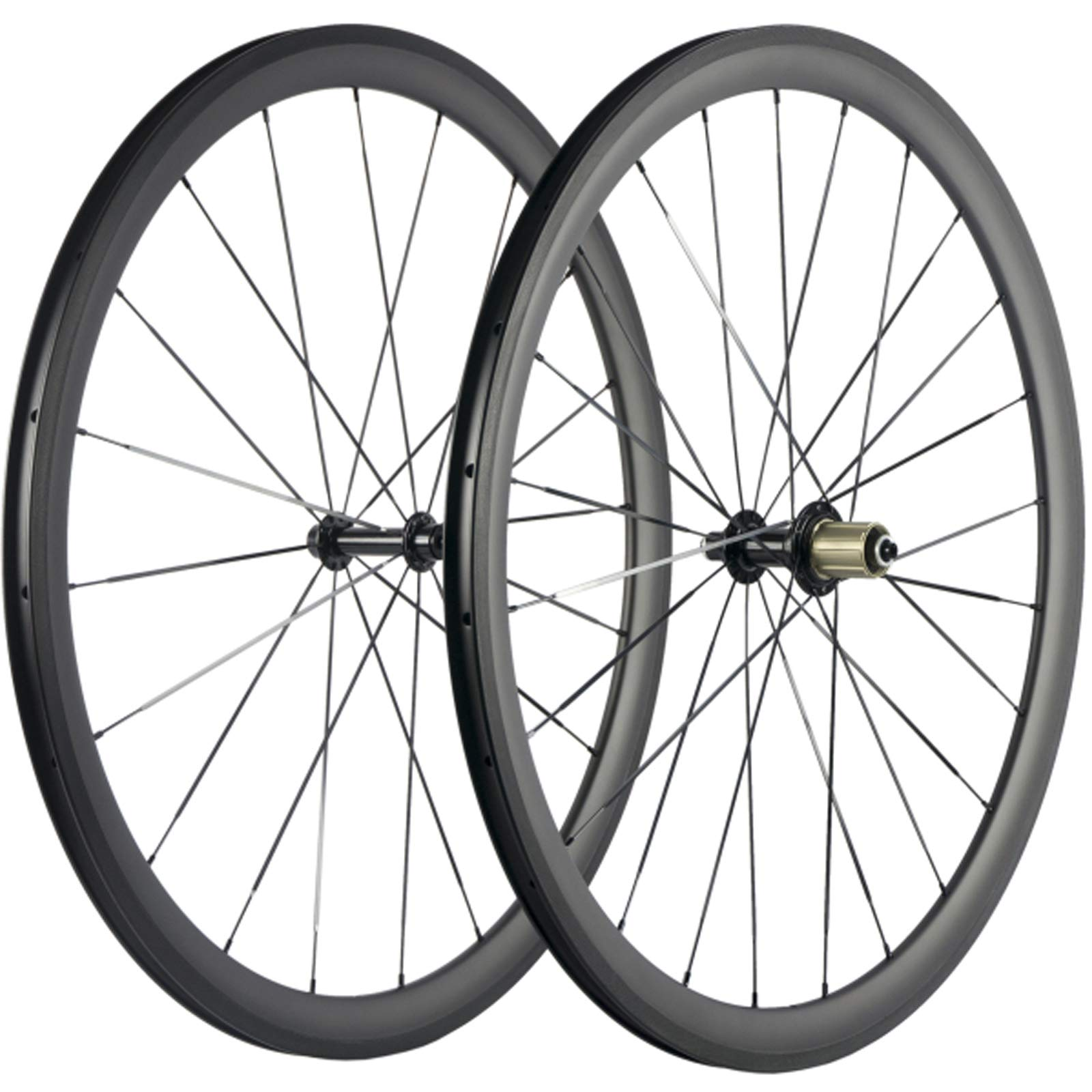 Superteam 38/50/60/88mm Carbon Wheelset 700c Clincher 23mm Wheel UD Matte Finish (38mm/23mm) by Superteam