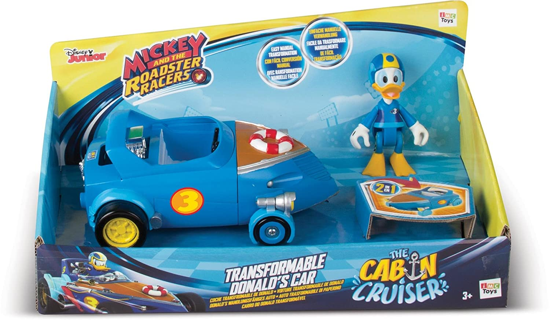 trasformabile Cabin Cruiser IMC Toys Topolino e Il Roadster Racers Donald