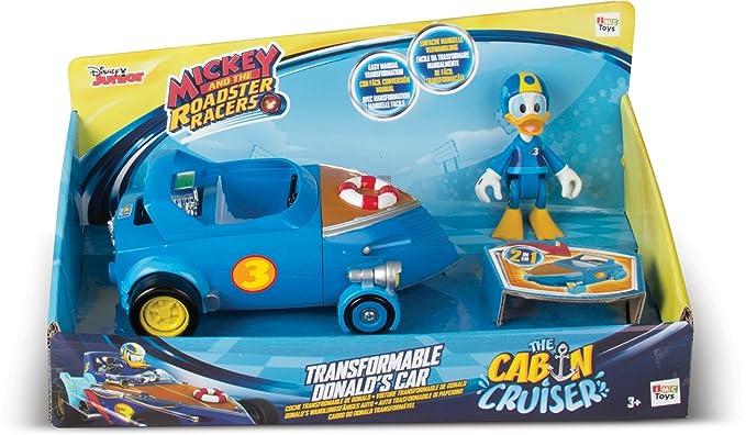 IMC Toys Cabin Cruiser Figurina Donald con su Coche transformable 182820: Amazon.es: Juguetes y juegos