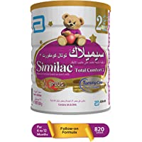 Similac Total Comfort 2 Follow On Infant Formula Milk - 820G Tin, Cabn000176