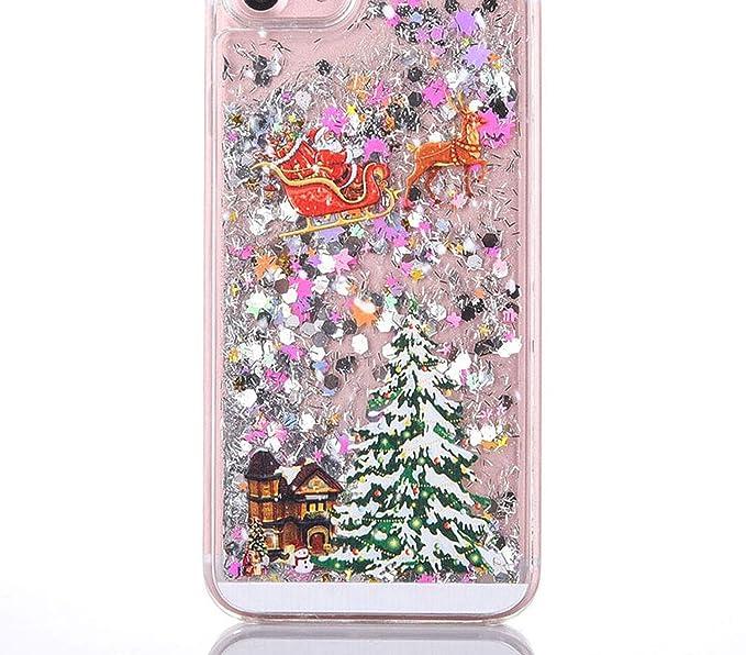 Luxury Glitter Quicksand Christmas Tree Shining Liquid Phone case for iPhone  X XS Max 6 7 8cf073a7cf18