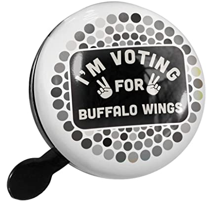 Amazon.com : NEONBLOND Bike Bell Im Voting for Buffalo ...