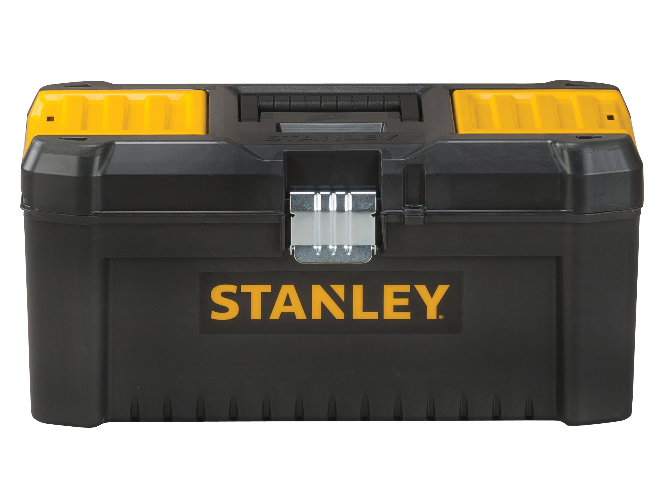 Stanley Tools Basic Toolbox with Organiser Top & Geometric Lock Latches | 16in by Stanley Tools (Image #4)