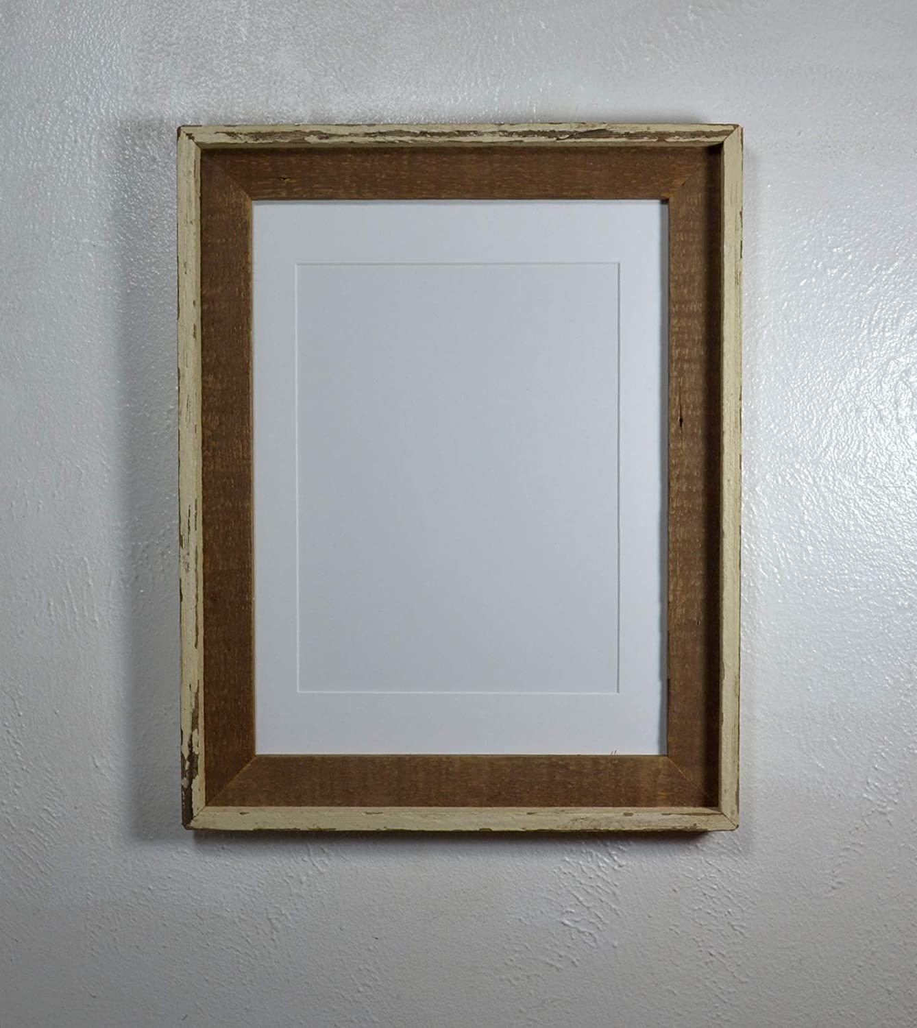Off White Walls With Grey Trim Amazon.com: Rustic Picture Frame Reclaimed Wood Wall Hung 9x12 Off White  Mat With Glass 12x16 Without Mat: Handmade