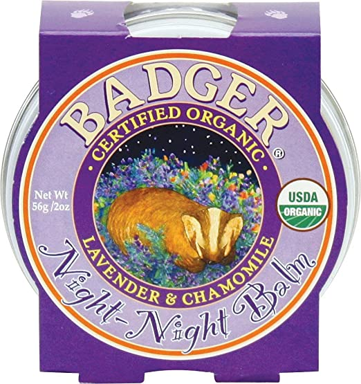 Badger, Night Night Balm, Relaxing Aromatherapy