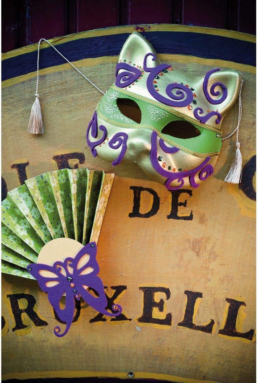 Artemio 14030005 Plaster Mask to Decorate Cat