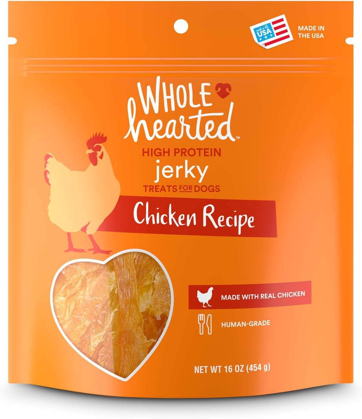 WholeHearted Chicken Recipe Jerky Dog Treats