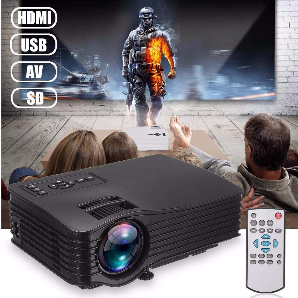 Amazon.com: XINLIFAN 1000 Lumens LED Proyector LCD for Home ...