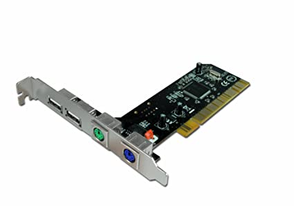 Amazon.com: Connectland 0709014 PCI Card PS/2 + USB2.0 ports ...