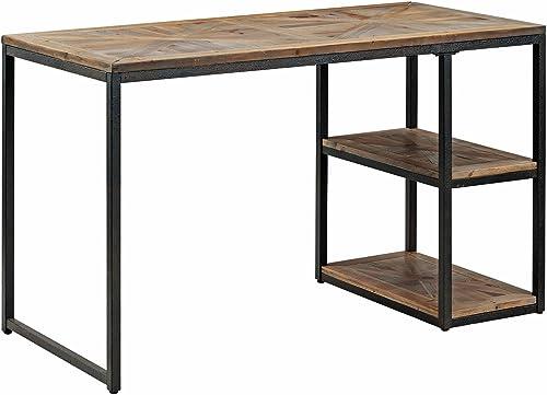 Editors' Choice: Reclaimed Wood Desk w/Distressed Metal Frame