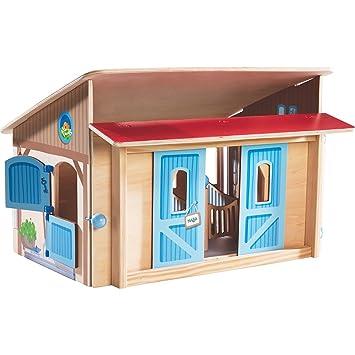 Haba 302168 Little Friends Pferdestall Puppe Puppenstuben & -häuser