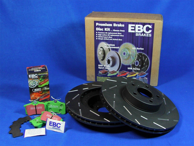 EBC S2KR1360 Stage-2 Sport Brake Kit