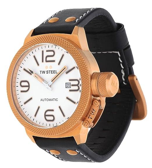 TW Steel Canteen Automatic TWA de 960 automático para hombre reloj XXL Reloj: Amazon.es: Relojes