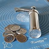25 Piece Cookie Press Pump Machine Biscuit Maker