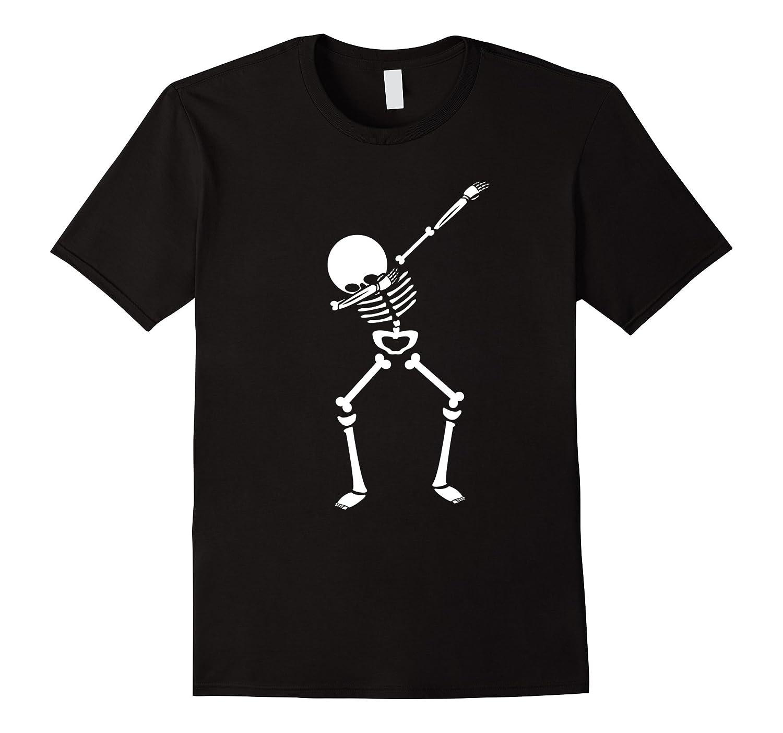 Glow Party Supplies - Halloween Dabbing Skeleton tshirt-T-Shirt