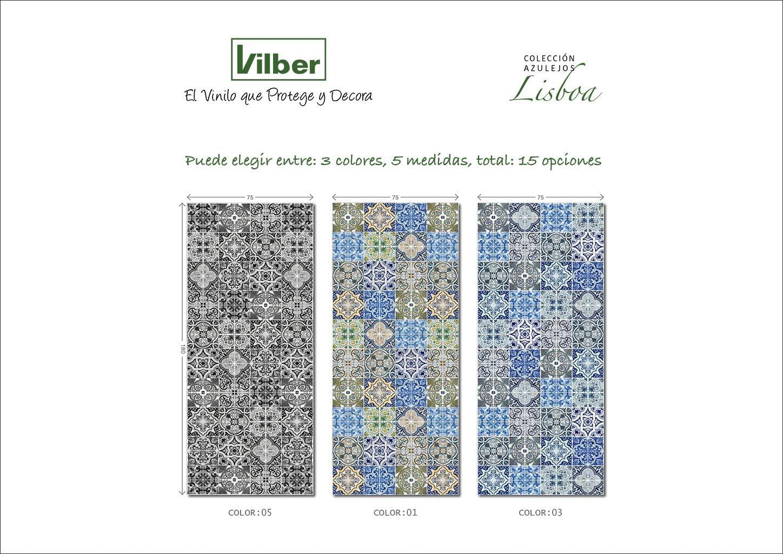 Alfombra vinilo LISBOA.2638 DL 05 50X120 CM: Amazon.es: Hogar