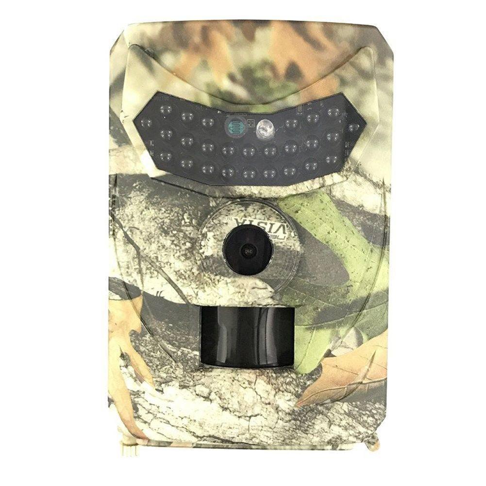 Wildkameras, 1080P Full HD 12MP Jagdkamera, Weitwinkel Vision, Infrarote15m Nachtsicht, Wasserdichte IP56 mit 26pcs LED, Kann für Tierüberwachung, Waldbeobachtung und andere Szenarien verwendet werden