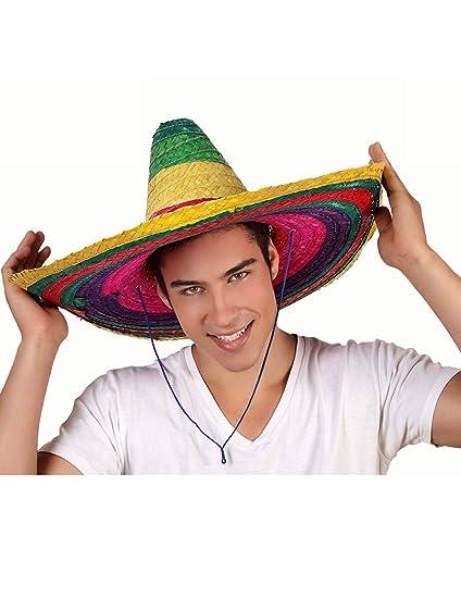 Atosa - Gr Sombrero Mexicano diám.58  ala 19cm  Amazon.es  Juguetes ... c2751ac91b0