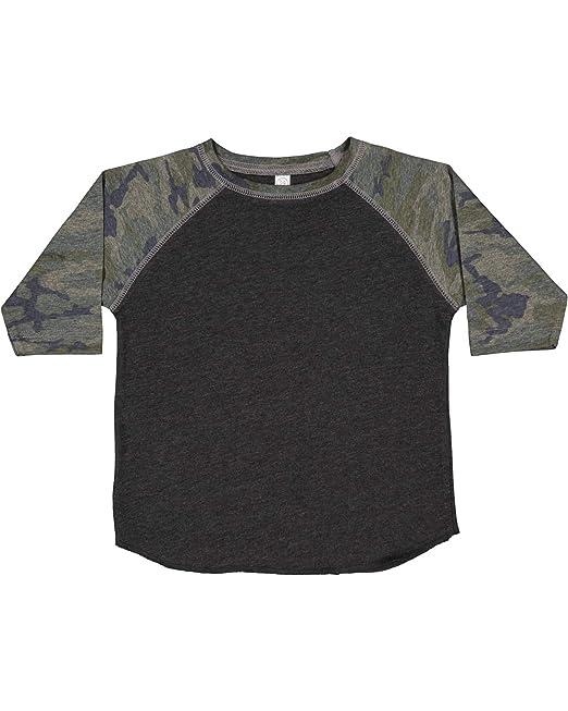 a047c8ec2 Rabbit Skins Toddler Fine Jersey Raglan 3/4 Sleeve Baseball Tee: Amazon.ca:  Clothing & Accessories