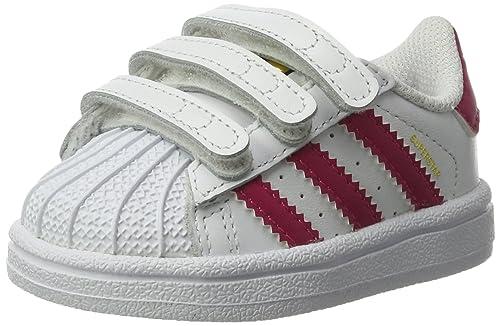 Unisex Bold Babies' TrainersWeiß Foundation Pink Adidas Superstar 2YWE9eDIH