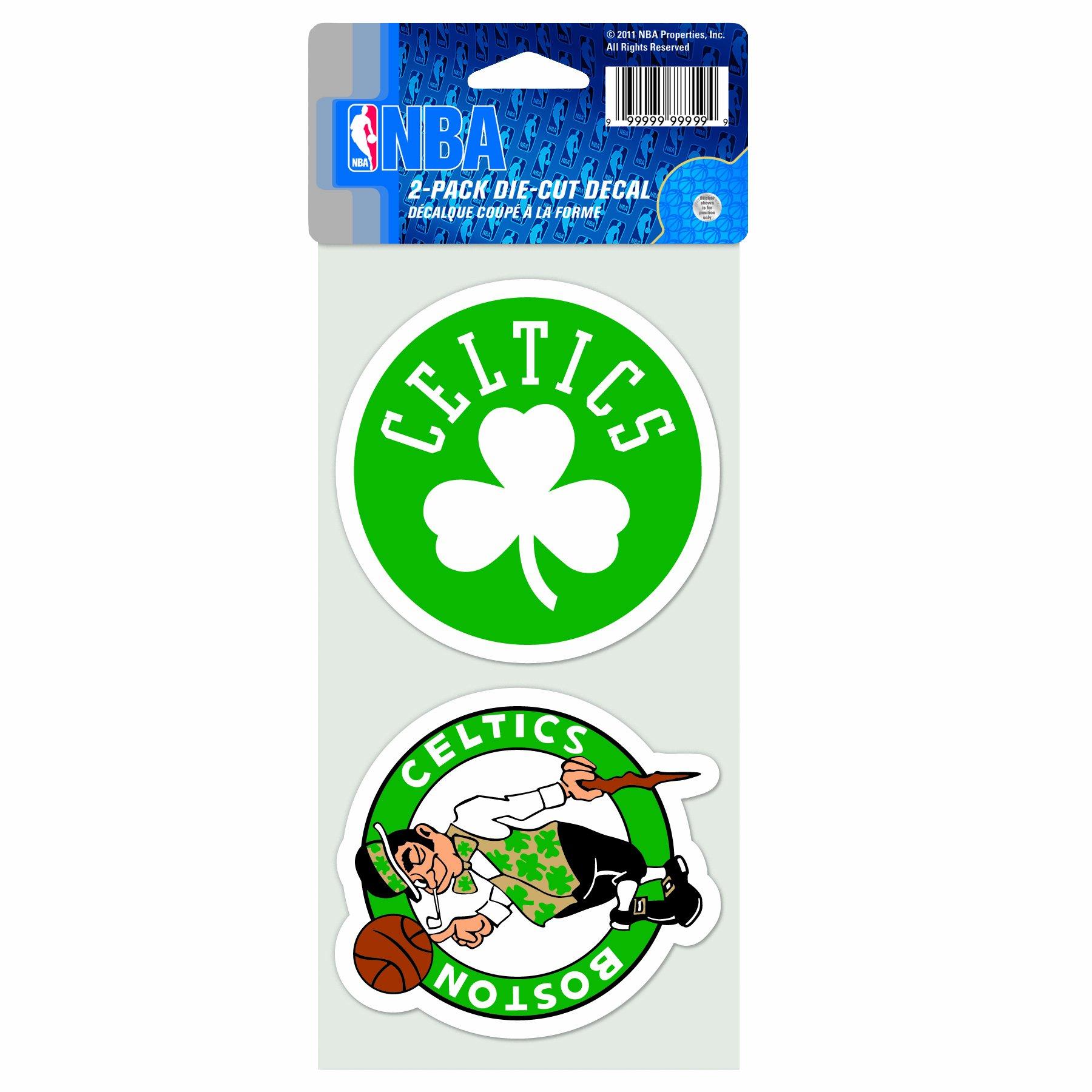 WinCraft NBA Boston Celtics 4-by-8 Die Cut Decal