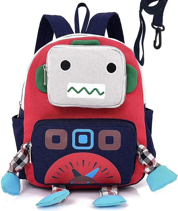 Mochila Infantil PequeñA Bebes Guarderia Perdidos-Anti ArnéS De Seguridad del Robot NiñO NiñA: Amazon.es: Equipaje