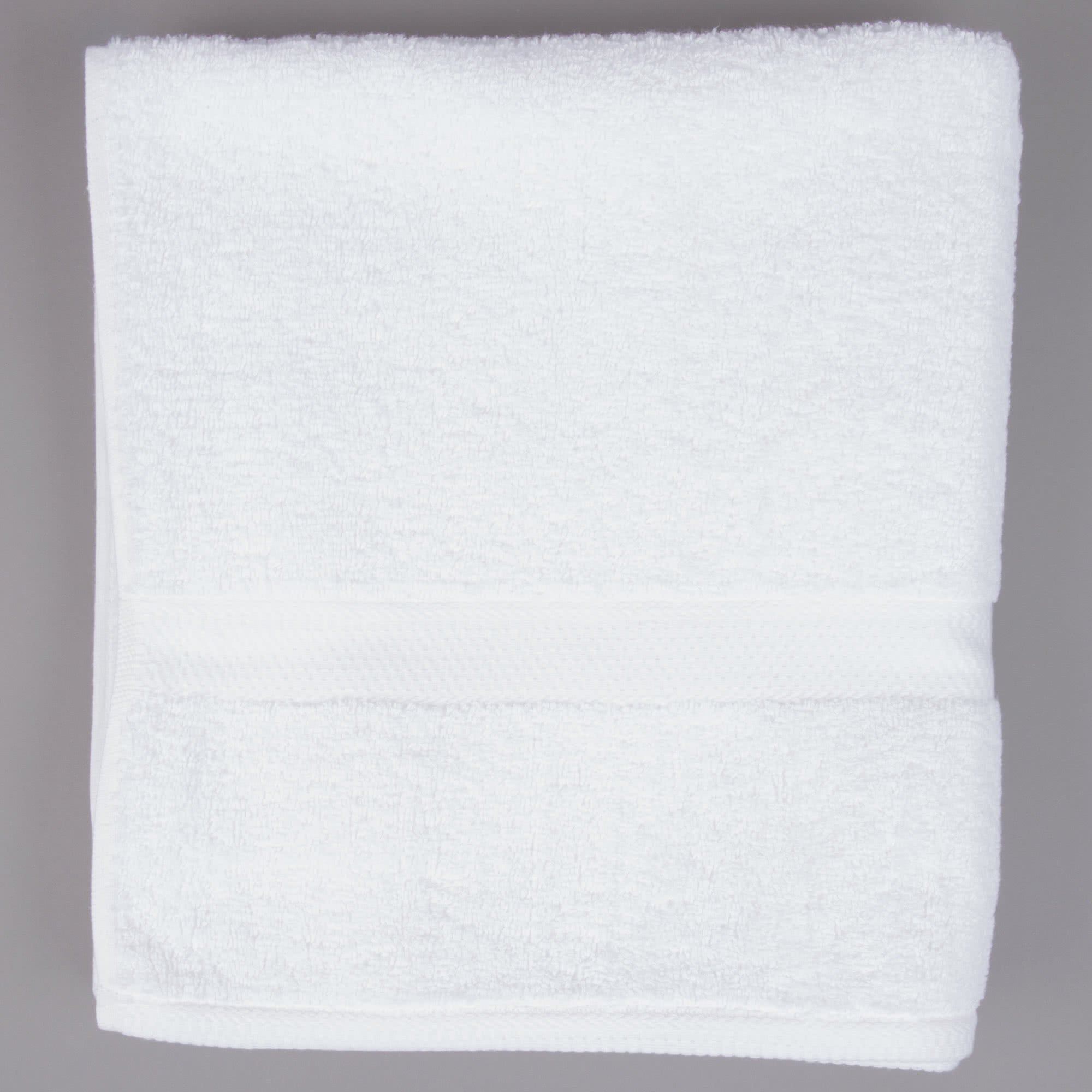 TableTop King 27'' x 54'' 100% Combed Egyptian Cotton Hotel Bath Towel 15 lb. - 12/Pack