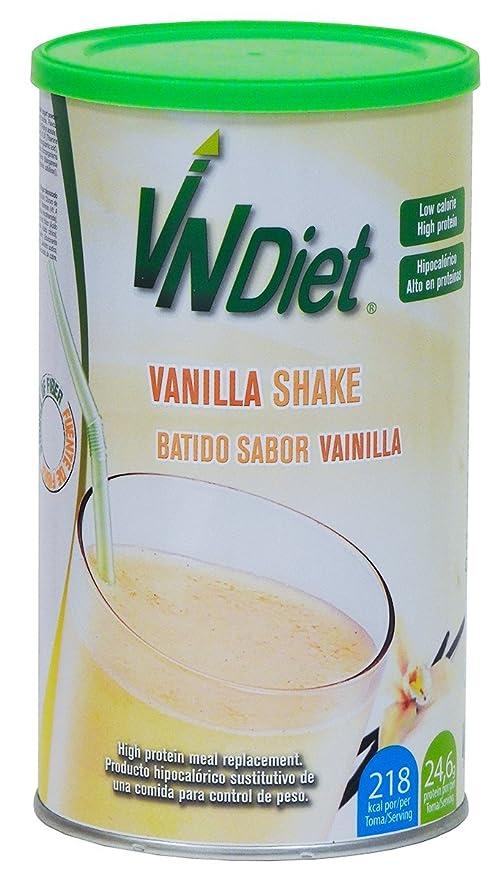 Batido de vainilla sustitutivo de una comida para adelgazar, alto en proteína. VNDiet