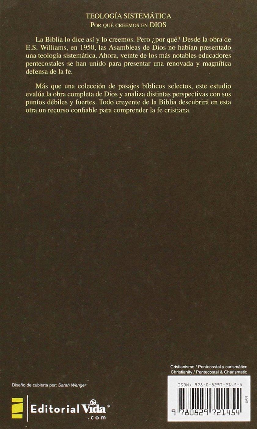 Teolog a sistem tica pentecostal revisada stanley m horton amazon com mx libros