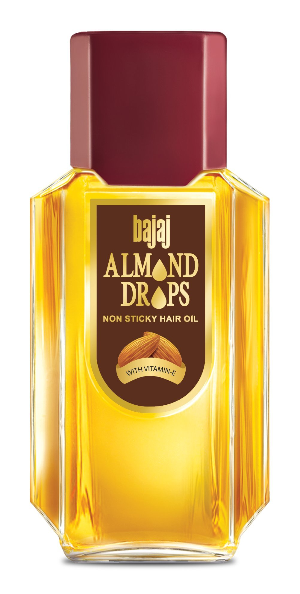 Bajaj Almond Drops Premium hair oil With real Almond extracts 100ml
