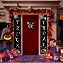 Feeke Trick or Treat Halloween Front Door Welcome Signs