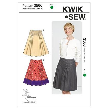 Amazon Kwik Sew K3566 Skirts Sewing Pattern Size Xs S M L Xl