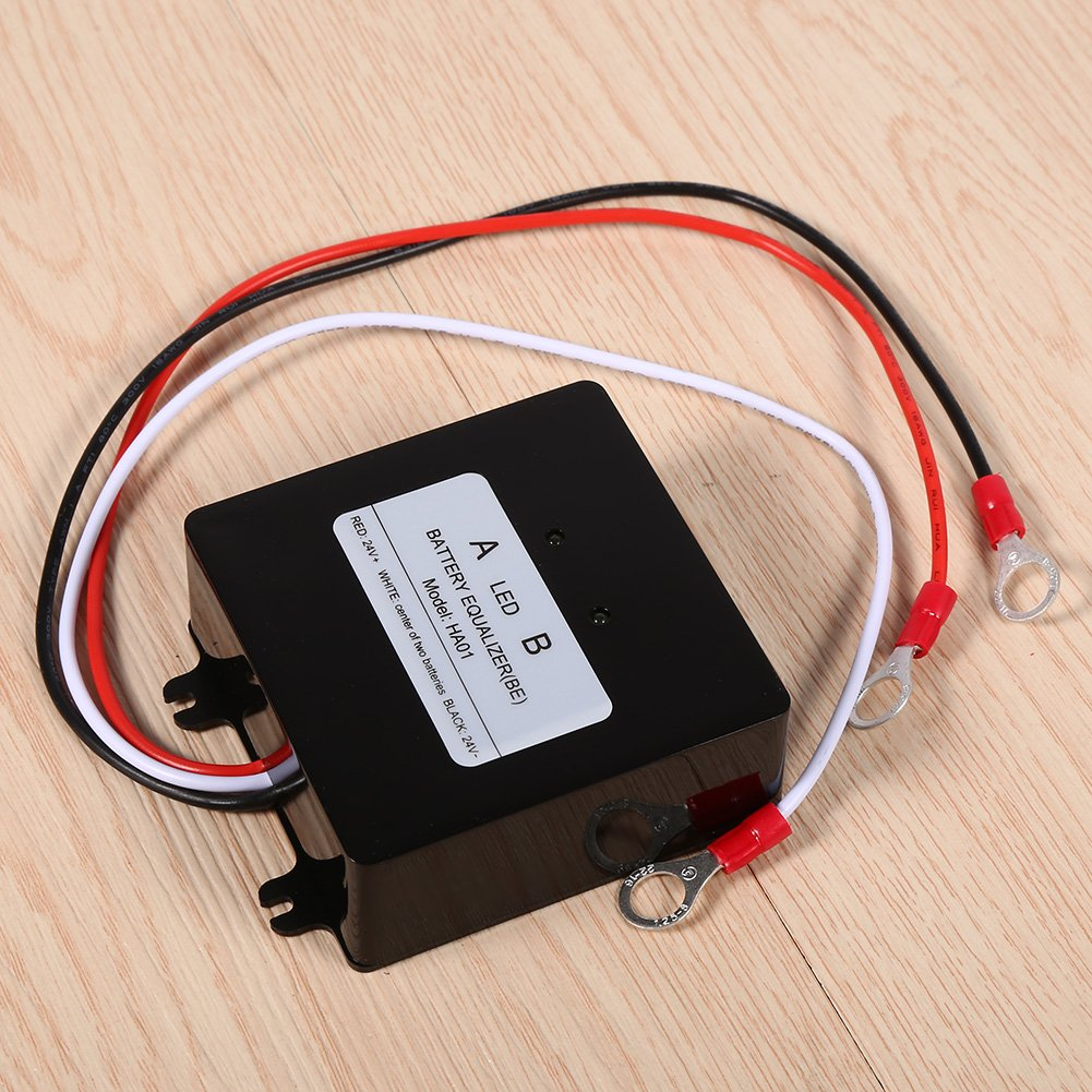 Battery Equalizer, 12V Solar System Battery Balancer Equalizer For Lead-acid Batteris HA01 Charger