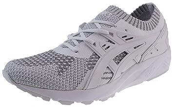 ASICS Running Gel Kayano Trainer Knit Silver White: Amazon