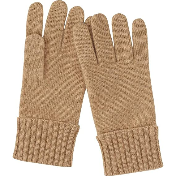Romano Womens Premium Brown Warm Winter 100/% Wool Gloves