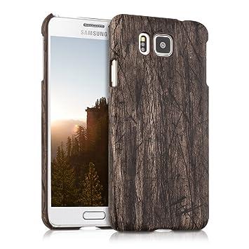 91f4ab64f2e kwmobile Funda para Samsung Galaxy Alpha: Amazon.es: Electrónica