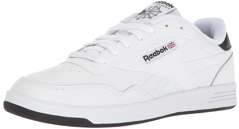 Reebok Men's Club MEMT Walking Shoe 9 D(M) US|White/White/Black