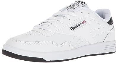 Reebok Men's Club MEMT Sneaker, White/White/Black, ...