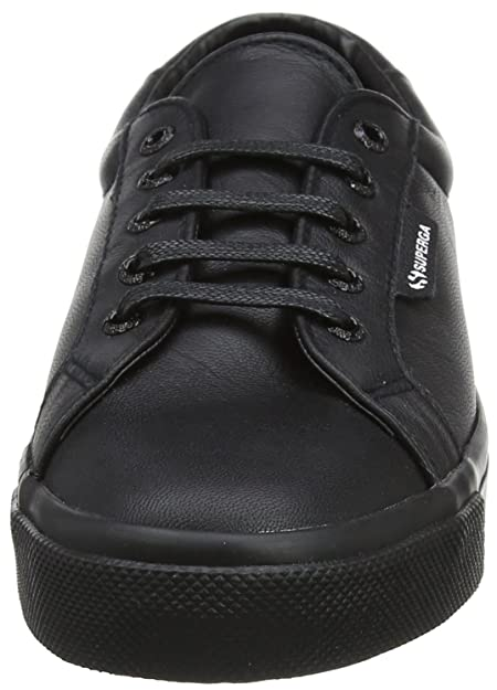Superga 2804 Nappau, Baskets Mixte Adulte, (Total Black F90), 41 EU