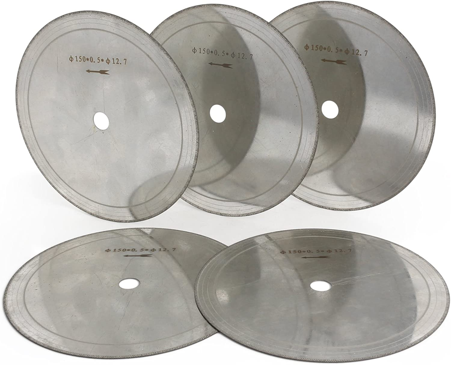 6~14 Inch Thin Diamond Saw Blade Lapidary Cutting Disc for Glass Stones Cutter
