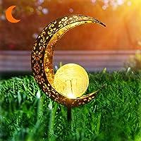 Herefun Lámpara Solar para Jardín, Luz Solar Jardín, Solar para Exteriores Decoración de Jardín, Luz Solar Jardín para…