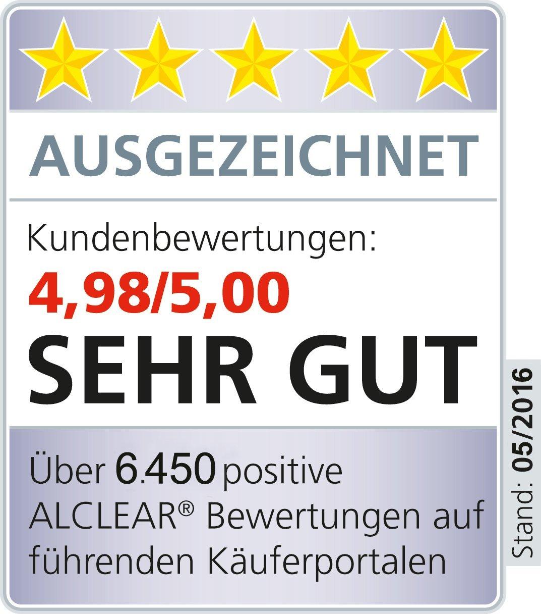Anthracite pour Un 3 Disc System///Ø 80x25 mm gaufr/é ALCLEAR Kid de 2 Pad de Finition Contre Les Hologramme