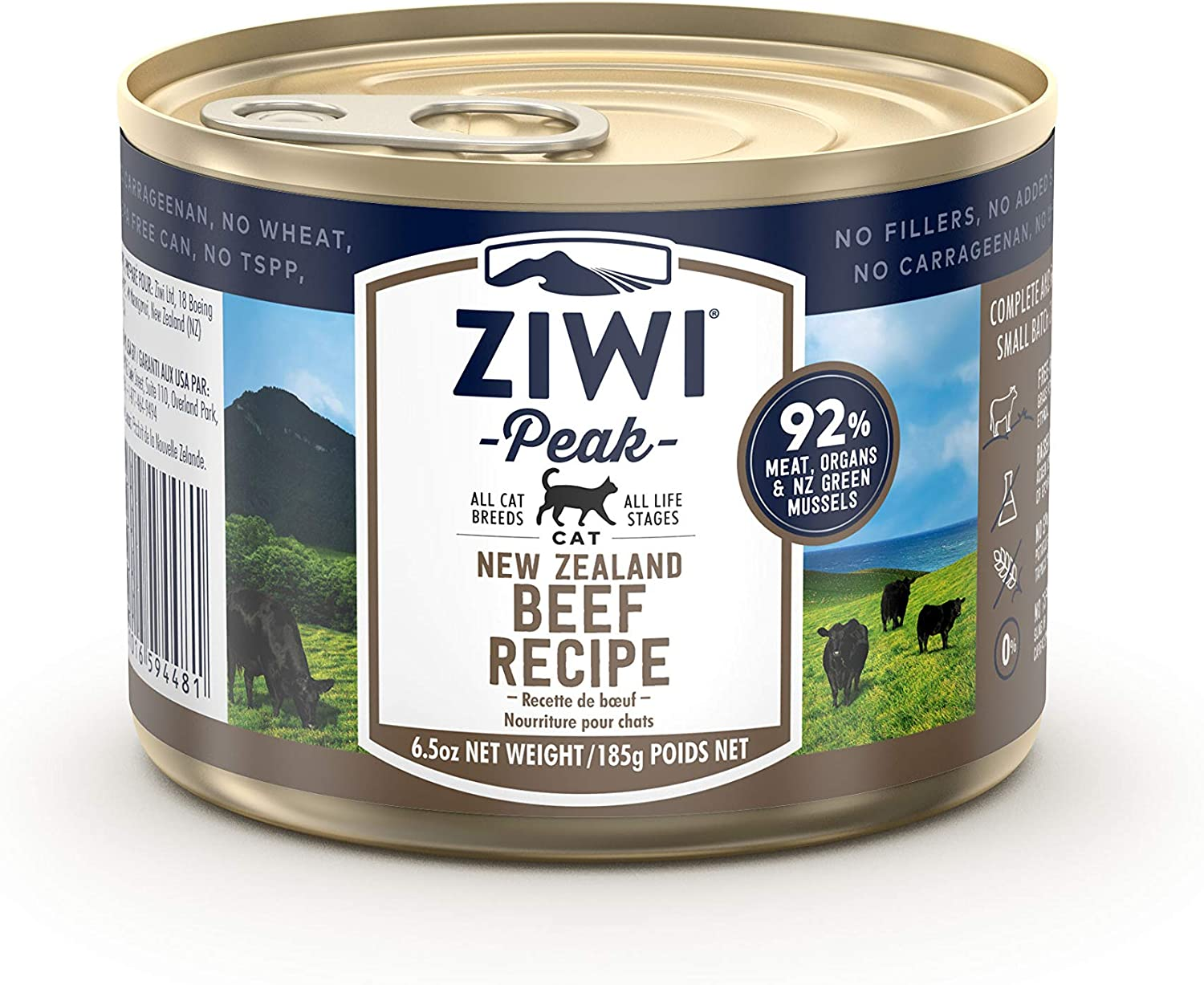5. Ziwi-Peak Grain-Free Canned Cat Food Recipe