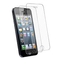 Tenmangu Verre Trempé Écran Protecteur Ultra Résistant pour iPhone SE/5S/5C/5, Lot DE 2