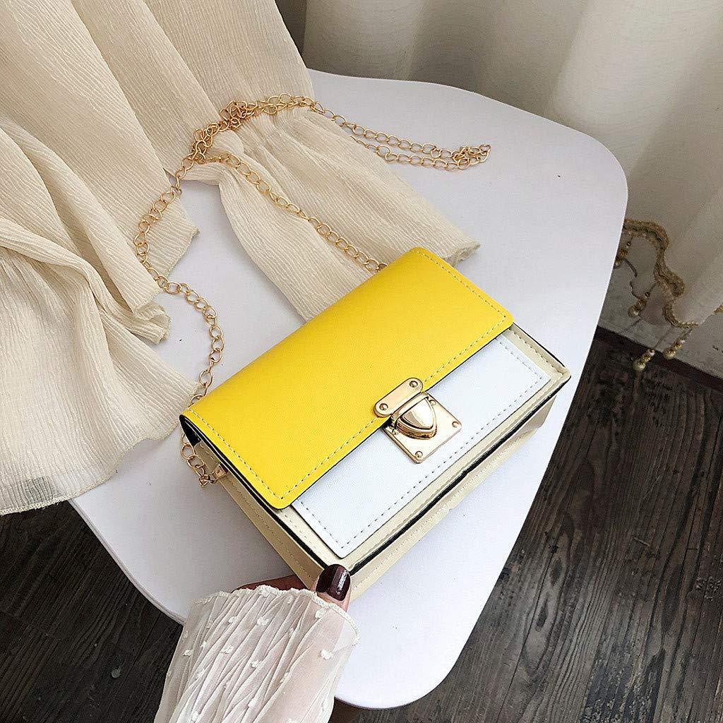 Borse A Tracolla Singole A Spalla Fashion Borsa A Spalla Singola per Donna Borsa Piccola Quadrata,Pwtchenty