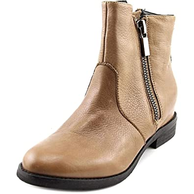 Kenneth Cole New York Womens Marcy Leather Western Boot Shoes, Clay, US 7