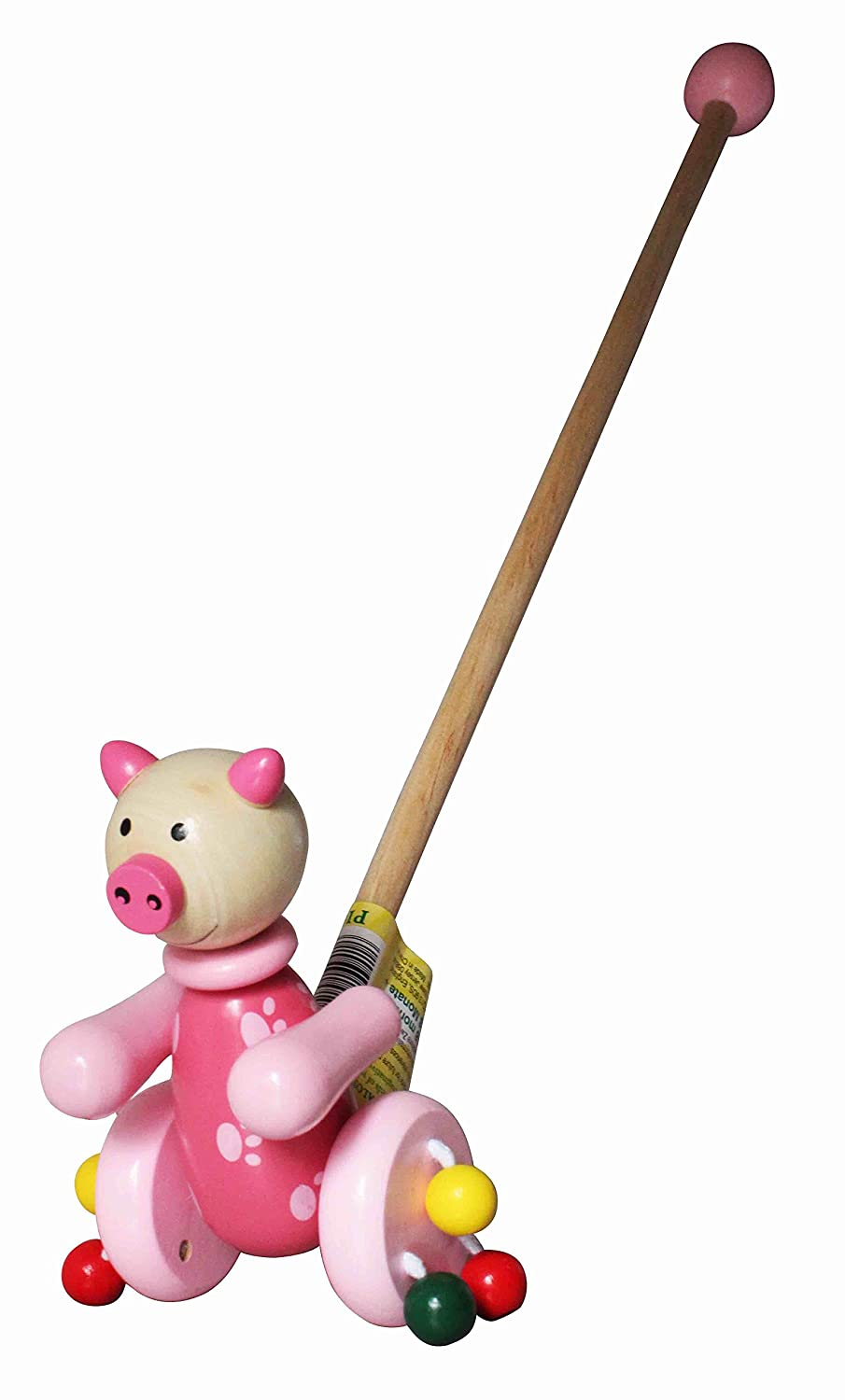 House of Marbles Push Along Pig 213301
