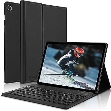 KVAGO Funda con teclado para tablet de 10,4 pulgadas Samsung Galaxy Tab S6 Lite 2020 SM-P610 / P615 | Teclado italiano Bluetooth inalámbrico ...