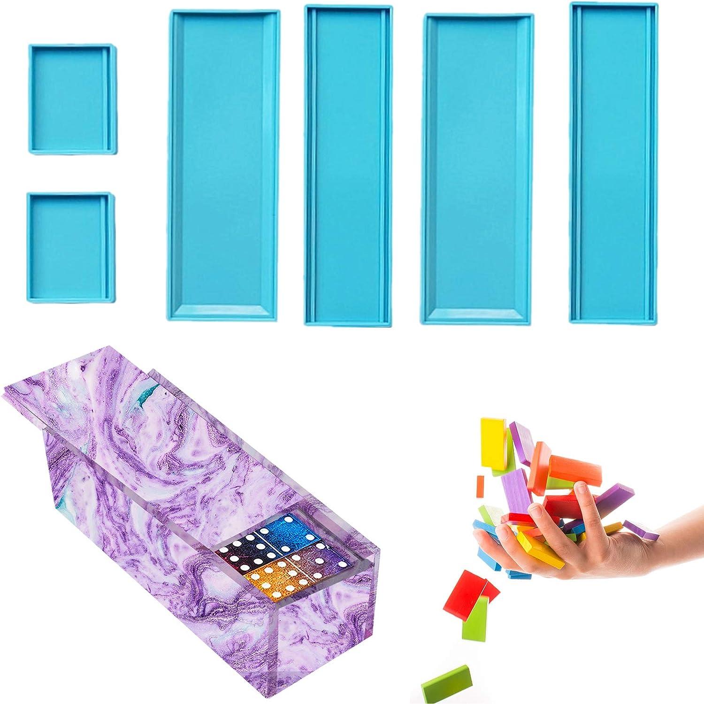 Molde de silicona para caja de dominó de resina