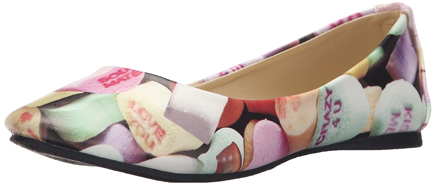 T.U.K. Womens Candy hearts Ballet Flat- Pick SZ/Color.